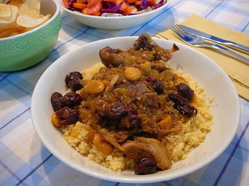 Couscous de cordero con pasas cocina del sol - Carne con ciruelas pasas ...