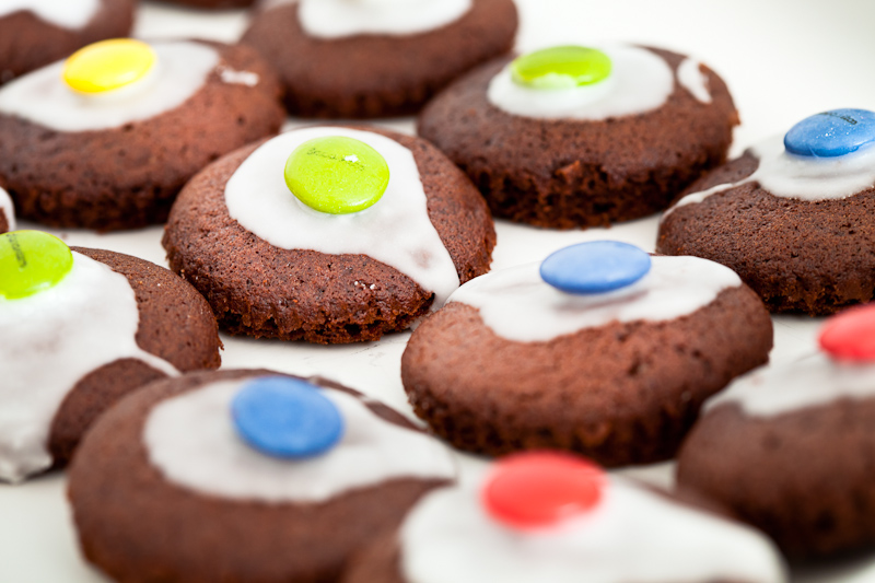 Mini chocolate buns